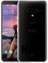 HTC U12 Plus Hoesje Huts zwart