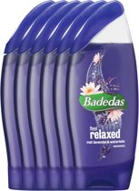 Badedas Feel Relaxed - 6 x 250  ml - Douchegel - Voordeelverpakking