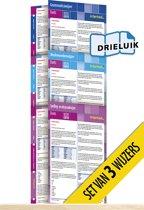 Wijzers Duits - nieuwe editie (pakket van 3) uitklapkaarten