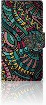 Sony Xperia M4 Aqua Boekhoesje Design Aztec