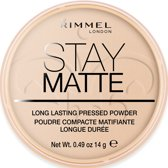 Rimmel London Stay Matte Pressed Make-uppoeder - 003 Peach Glow