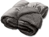 Unique Living Jonas - Fleece plaid - 150x200 cm - Dark Grey