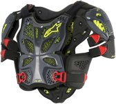 Alpinestars Body Protector A-10 Anthracite/Black/Red-XS/S