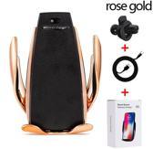 GOLDEN EDITION  - Wireless Car Charger - Geschikt voor alle auto's - Sterke 10W - Draadloze oplader auto - autohouder