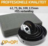 Toolwelle Gatenfrees Prof. 8-gatenzaag in box