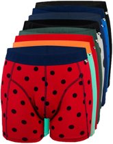 8 PACK ALL BOXER MAAT XS