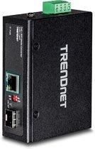 Trendnet TPE-3018L netwerk-switch Unmanaged L2 Gigabit Ethernet (10/100/1000) Zwart 1U Power over Ethernet (PoE)