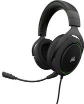 Corsair HS50 - Gaming Headset - Groen - PS4 + Xbox One + PC + Switch