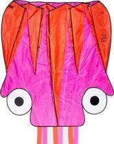Dragon Fly Vlieger - Octopus - Roze/Oranje