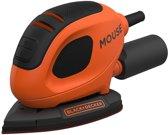 BLACK+DECKER Mouse BEW230-QS detailschuurmachine - 55W - incl. 6 schuurvellen