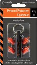 Crescendo PPE 25   Gehoorbescherming Industrie   Oordoppen Bouw