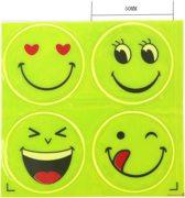 Smiley Reflector Sticker