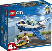 LEGO 4+ City Luchtpolitie Vliegtuigpatrouille - 60206
