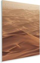 Het Noord-Afrikaanse woestijngebied in het oosten van Marokko Plexiglas 120x180 cm - Foto print op Glas (Plexiglas wanddecoratie) XXL / Groot formaat!