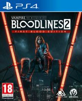 Vampire:The Masquerade Bloodlines 2 First Blood Edition - PS4