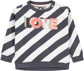 Tumble 'N Dry Meisjes Sweatshirt Janon - Grey Dark - Maat 68