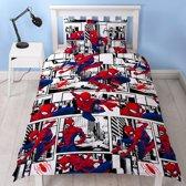 Spiderman dekbedovertrekset 135 x 200 cm.