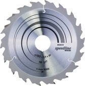 Bosch - Cirkelzaagblad Standard for Wood Speed 165 x 30/20 x 2,4 mm, 18