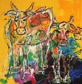 Schilderij Cows