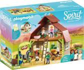 PLAYMOBIL Schuur met Lucky, Pru en Abigail - 70118