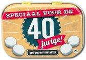 Paperdreams - Retro mints - 40 Jarige