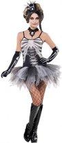Verkleedkostuum sexy skelet voor dames Halloween kleding - Verkleedkleding - Medium