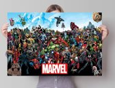 Marvel Universe  - Poster 91.5 x 61 cm