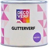 Decoverf glitterverf, 500 ml
