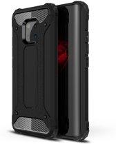 Armor Hybrid Huawei Mate 20 Pro Hoesje - Zwart