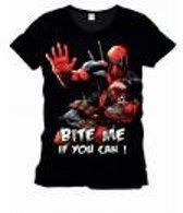 Merchandising DEADPOOL - MARVEL T-Shirt Bite Me Officiel Black (XXL)