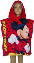 Mickey Mouse badcape rood