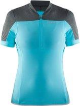 Craft Motion Wielrenshirt dames Fietsshirt - Maat S  - Vrouwen - blauw/grijs