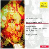 Haydn: String Quartets - Vol 5:  Op 20, Nos 1-6
