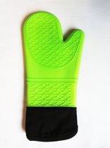 Point-Virgule Kitchen - Handschoen Silicone - Groen