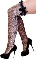 Stay up kousen luipaard