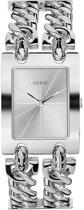 GUESS Watches -  W1117L1 -  horloge -  Vrouwen -  RVS - Zilverkleurig -  30  mm