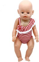 Baby Born Strandstoel.Bol Com Poppen Strandstoel Rood Wit Gestreept Speelgoed