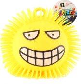 Toi-toys Pufferbal Emoji Blij Geel 15 Cm
