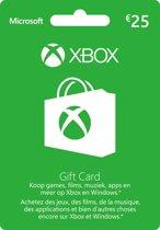 Microsoft Xbox Live 25 Euro Giftcard Kaart - Xbox 360 + Xbox One