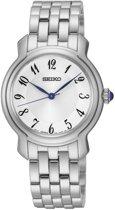 Seiko SRZ391P1 horloge dames - zilver - edelstaal