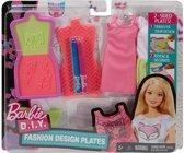 Barbie Ontwerpstudio Roze 9-delig