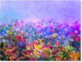 Canvas Schilderij Bloemen - Modern