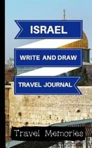 Israel Write and Draw Travel Journal