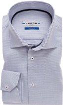 Ledub overhemd tailored fit grijs, maat 39