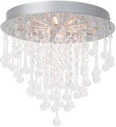 Brilliant SVEA - Plafondlamp - Chroom