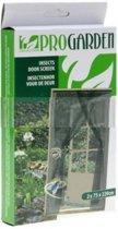 Horgordijn deur - 75x220 - 2 stuks - gaas - anti muggen
