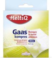 Heltiq Gaaskompressen - 5 x 5 cm - 16 stuks - Gaasjes