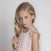 Lucardi Zilveren kinderoorbellen - Letter K