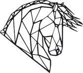 FBRK. IJsbeer 50 x 25 cm  Wit - Geometrische dieren -Wanddecoratie