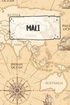 Mali: Punktiertes Reisetagebuch Notizbuch oder Reise Notizheft Gepunktet - Reisen Journal f�r M�nner und Frauen mit Punkten